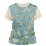 Almond Blossoms (Van Gogh) Women's Crew T-Shirt