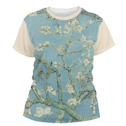 Apple Blossoms (Van Gogh) Women's Crew T-Shirt