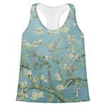 Apple Blossoms (Van Gogh) Womens Racerback Tank Top