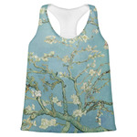 Almond Blossoms (Van Gogh) Womens Racerback Tank Top