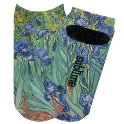 Irises (Van Gogh) Adult Ankle Socks