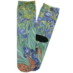 Irises (Van Gogh) Adult Crew Socks