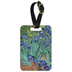 Irises (Van Gogh) Aluminum Luggage Tag