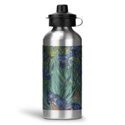 Irises (Van Gogh) Water Bottle - Aluminum - 20 oz