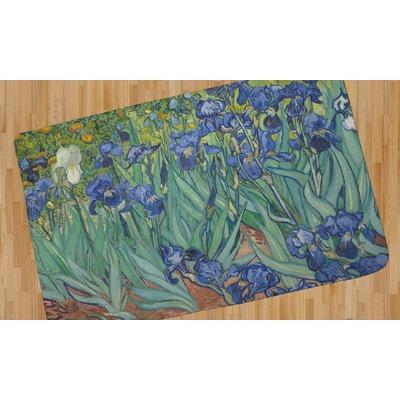 Irises (Van Gogh) Area Rug