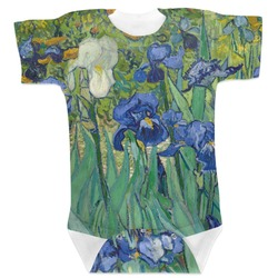 Irises (Van Gogh) Baby Bodysuit