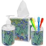 Irises (Van Gogh) Acrylic Bathroom Accessories Set