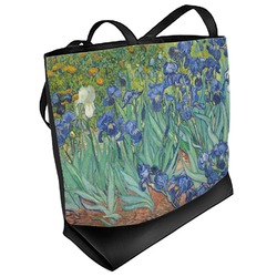 Irises (Van Gogh) Beach Tote Bag
