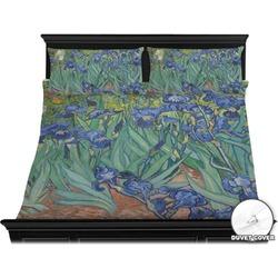 Irises (Van Gogh) Duvet Cover Set - King