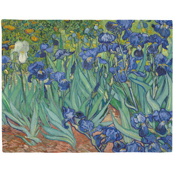 Irises (Van Gogh) Woven Fabric Placemat - Twill