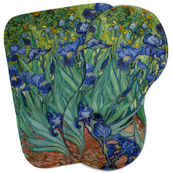 Irises (Van Gogh) Burp Cloth