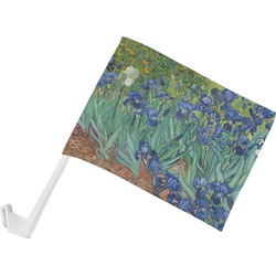 Irises (Van Gogh) Car Flag