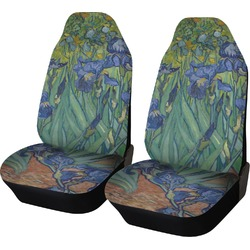 Irises (Van Gogh) Car Seat Covers (Set of Two)
