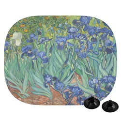 Irises (Van Gogh) Car Side Window Sun Shade
