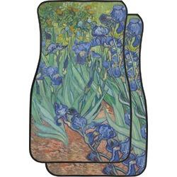 Irises (Van Gogh) Car Floor Mats (Front Seat)