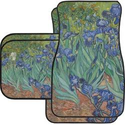 Irises (Van Gogh) Car Floor Mats