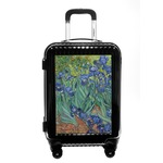 Irises (Van Gogh) Carry On Hard Shell Suitcase