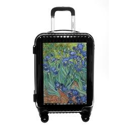Irises (Van Gogh) Carry On Hard Shell Suitcase