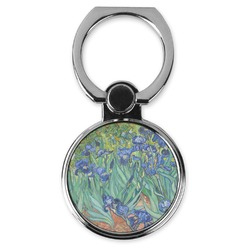 Irises (Van Gogh) Cell Phone Ring Stand & Holder