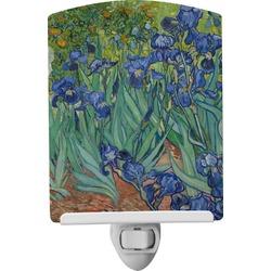 Irises (Van Gogh) Ceramic Night Light
