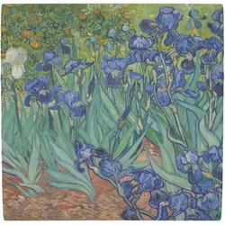 Irises (Van Gogh) Ceramic Tile Hot Pad