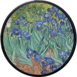 Irises (Van Gogh) Round Trailer Hitch Cover