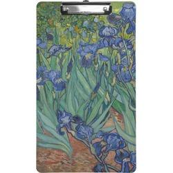 Irises (Van Gogh) Clipboard (Legal Size)