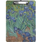 Irises (Van Gogh) Clipboard