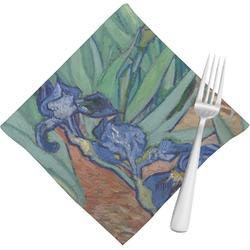 Irises (Van Gogh) Cloth Napkins (Set of 4)