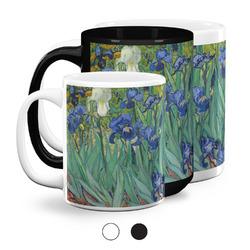 Irises (Van Gogh) Coffee Mugs