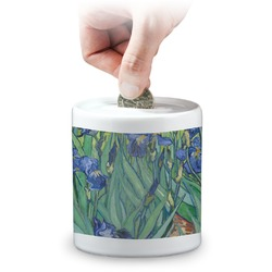 Irises (Van Gogh) Coin Bank