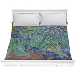 Irises (Van Gogh) Comforter - King