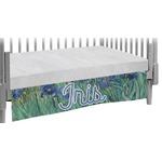 Irises (Van Gogh) Crib Skirt