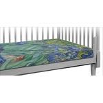 Irises (Van Gogh) Crib Fitted Sheet