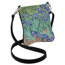 Irises (Van Gogh) Cross Body Bag - 2 Sizes