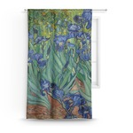 Irises (Van Gogh) Curtain