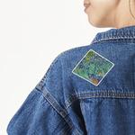 Irises (Van Gogh) Large Custom Shape Patch