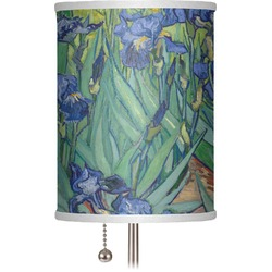 "Irises (Van Gogh) 7"" Drum Lamp Shade"