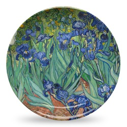 Irises (Van Gogh) Microwave Safe Plastic Plate - Composite Polymer