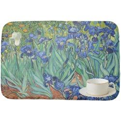 Irises (Van Gogh) Dish Drying Mat