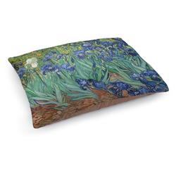 Irises (Van Gogh) Dog Bed - Medium