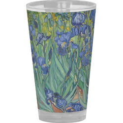 Irises (Van Gogh) Drinking / Pint Glass