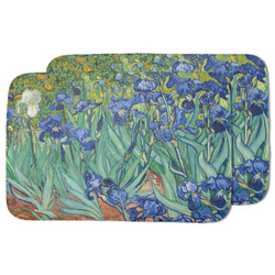 Irises (Van Gogh) Dish Drying Mat