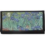 Irises (Van Gogh) Canvas Checkbook Cover