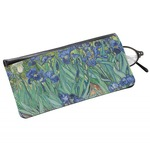 Irises (Van Gogh) Genuine Leather Eyeglass Case