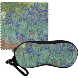 Irises (Van Gogh) Eyeglass Case & Cloth