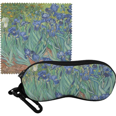 Irises (Van Gogh) Eyeglass Case & Cloth