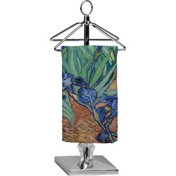 Irises (Van Gogh) Finger Tip Towel - Full Print