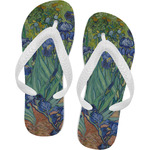 Irises (Van Gogh) Flip Flops
