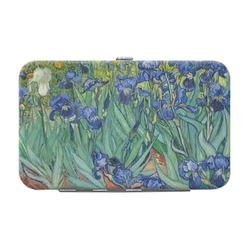 Irises (Van Gogh) Genuine Leather Small Framed Wallet